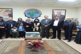 جمعية رجال الأعمال تستجيب لمناشدة عائلة كفيفة بغزة