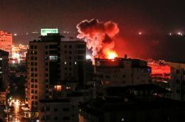 إصابة عدد من المواطنين بقصف للاحتلال على غزة