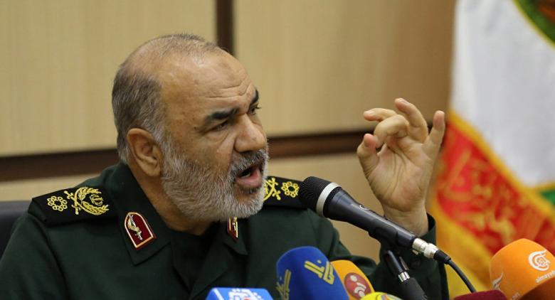 قائد الحرس الثوري الإيراني يخرج ببيان جديد عن الحرب