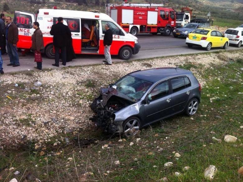 الشرطة: 189 إصابة في 236 حادث سير الأسبوع الماضي