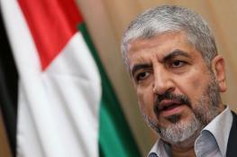 مشعل يبحث مع بوغدانوف التطورات الفلسطينية
