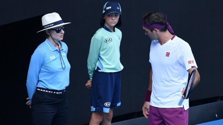 تغريم فيدرر بسبب عبارات مسيئة في بطولة أستراليا المفتوحة