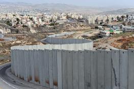 جيش الاحتلال يستكمل بناء الجدار الفاصل بالخليل