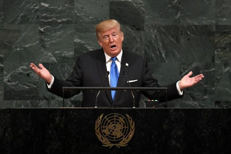 ترامب: مستعدون لتدمير كوريا الشمالية ومواجهة إيران