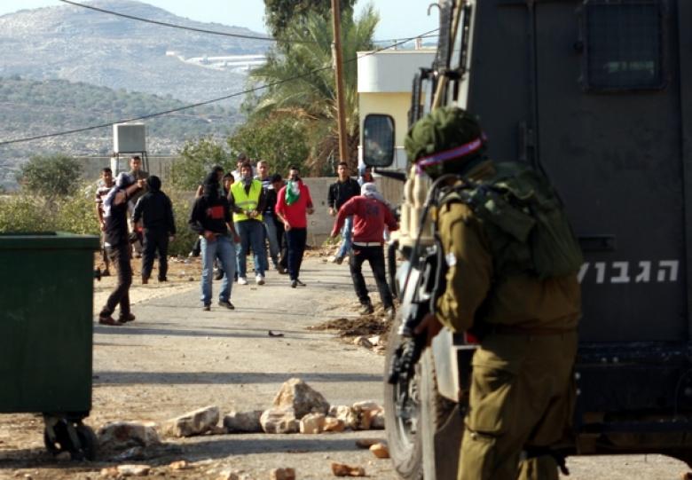 إصابات بالاختناق خلال مواجهات في بلدة الرام