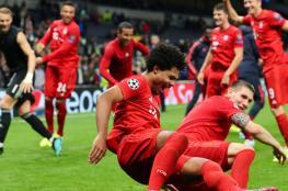 بايرن ميونيخ يحقق فوزا تاريخيا أمام توتنهام في أبطال أوروبا