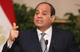 """السيسي يؤكد على موقف مصر من """"حل الدولتين"""""""