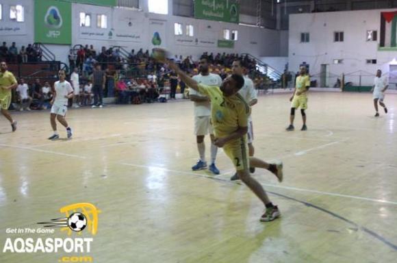 خدمات النصيرات بطلا لدوري كرة اليد بغزة