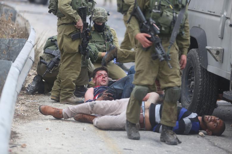 """المتطرف """"مارزل"""" يدعو إلى اعدام الجرحى الفلسطينيين"""