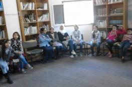 الملتقى التربوي ينظم ورشة عمل للتشجيع على القراءة