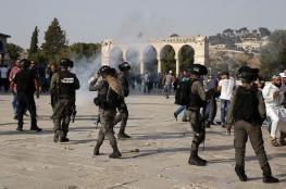 إصابات بمواجهات عنيفة في محيط المسجد الأقصى