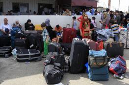 استمرار فتح معبر رفح وبدء مغادرة المسافرين