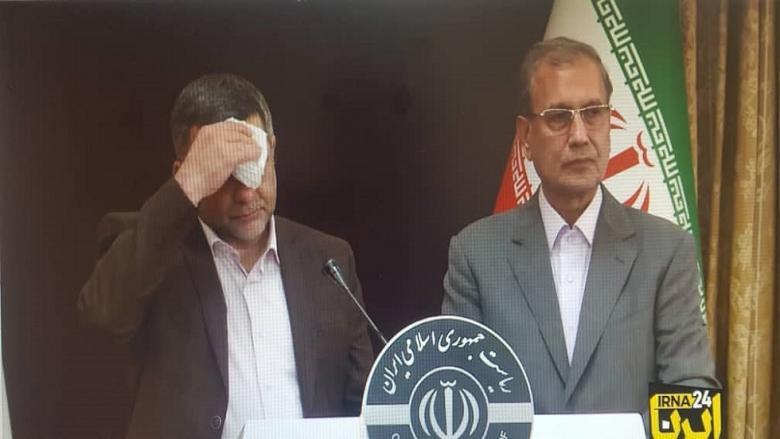 """أعراض """"كورونا"""" واضحة على نائب وزير الصحة الإيراني"""