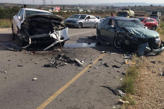 وفاة مواطن وإصابة 11 في حادث سير مروع قرب حلحول