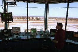 مركز رقمي لمراقبة مطار لندن سيتي