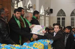 الكتلة الإسلامية تكرم المتفوقين بالمغازي