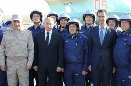 سخرية واسعة من الأسد بعد منعه من اللحاق ببوتين