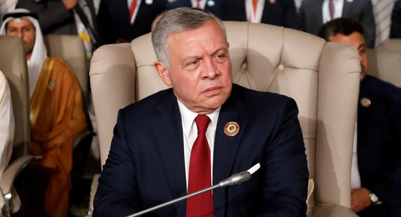 العاهل الأردني يؤكد ضرورة تكثيف الجهود الدولية لتحقيق السلام