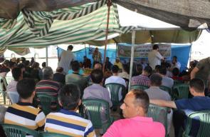 فعاليات خيمة العودة شرق المحافظة الوسطى
