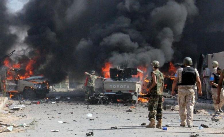 مقتل رئيس أركان الجيش الثالث الميداني بانفجار عبوة بسيناء
