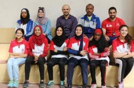 تدريبات مكثفة للاعبات المنتخب الوطني لألعاب القوى غزة