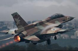 قتلى وجرحى جراء الغارات الإسرائيلية على مواقع النظام السوري