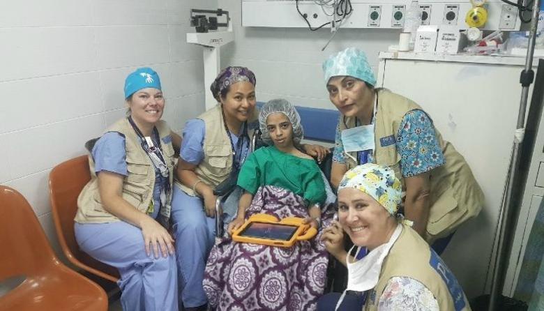 4 وفود طبية تجري عمليات جراحية بالضفة وغزة