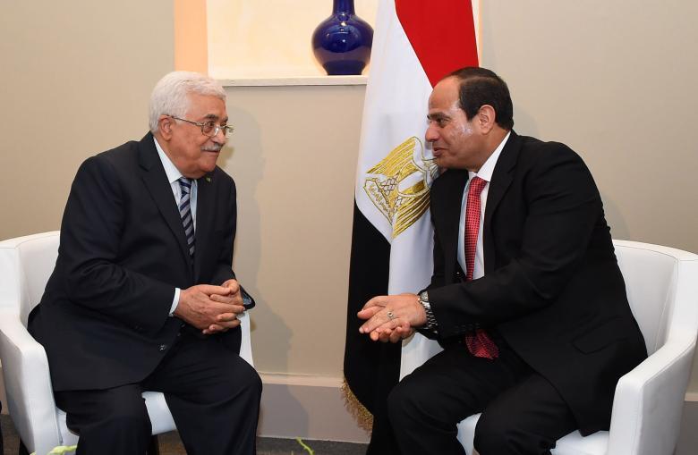 السيسي يلتقي عباس في نيويورك ويبحثان المصالحة والتسوية