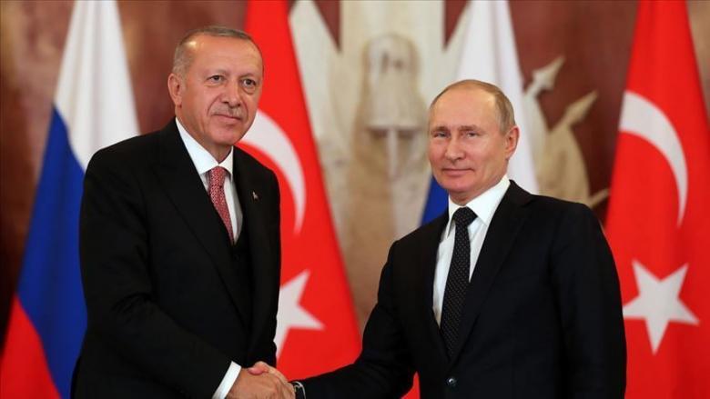 أردوغان يلتقي بوتين مطلع مارس ووفد روسي يزور أنقرة غدًا