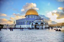 فلسطيني في الأقصى لأول مرة منذ 22 عامًا