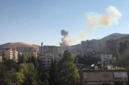 انفجار داخل قاعدة عسكرية بدمشق