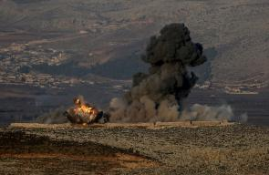قصف تركي يستهدف الأكراد بريف عفرين