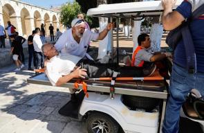 إصابات باعتداء الاحتلال على المرابطين في المسجد الأقصى