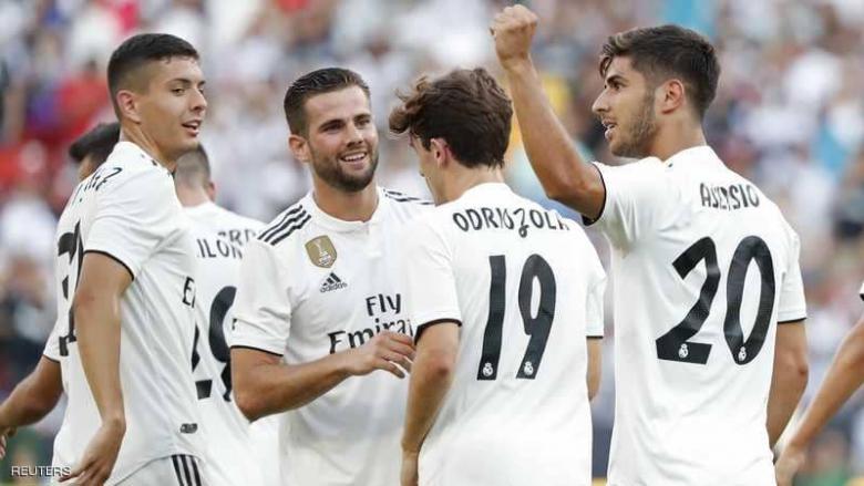 """ريال مدريد يهزم """"فريق رونالدو"""" في غيابه"""