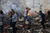 مقتل 46 في قصف صاروخي على حلب