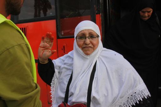 حجاج غزة: الأقصى كان حاضراً في أدعيتنا والمناسك لم تمنعنا من متابعة الأحداث