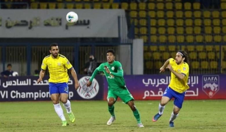 الإسماعيلي يفوز على الرجاء بذهاب نصف نهائي البطولة العربية