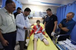 الاحتلال يفرج عن الطفل الجريح صلاح بعد بتر قدمه