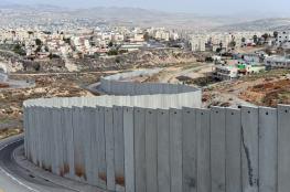 الاحتلال يواصل بناء جدار الفصل العنصري جنوب القدس