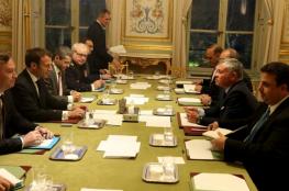 ملك الأردن يبحث القضية الفلسطينية مع الرئيس الفرنسي