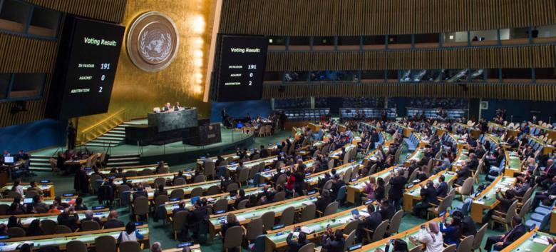 حماس تدعو للتصدي لمشروع القرار الأمريكي بالأمم المتحدة