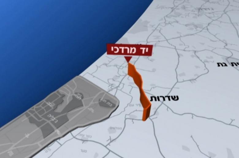 جيش الاحتلال يقرر بناء جدار جديد على حدود غزة