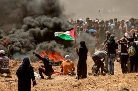"""شهيد وعشرات الإصابات في جمعة """"كسر الحصار"""""""