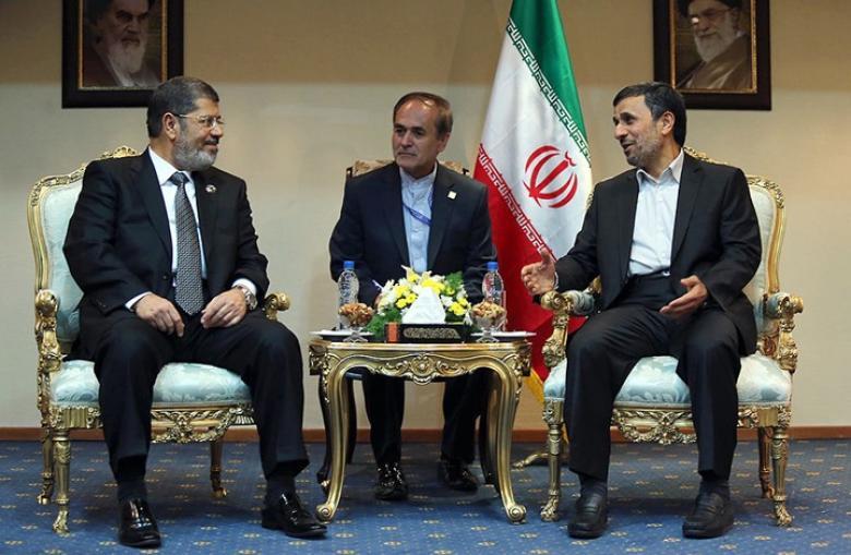 """إيران تأسف لوفاة رئيس """"أول انتخابات شعبية"""" بمصر"""