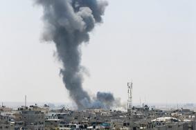 طائرة استطلاع تقصف موقعين للمقاومة شمال القطاع