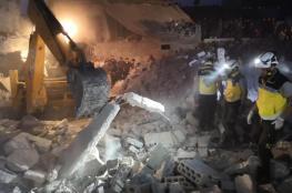 عشرات الضحايا في غارات للنظام على إدلب