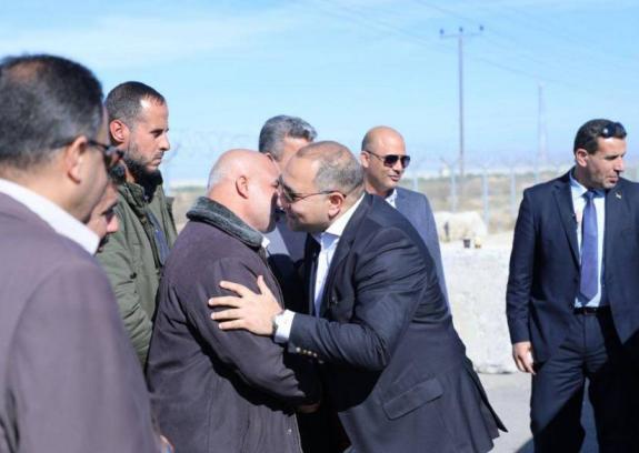 وصول الوفد الأمني المصري إلى قطاع غزة لمتابعة ملف المصالحة