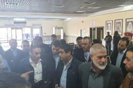 الوفد الأمني المصري يزور معبر رفح