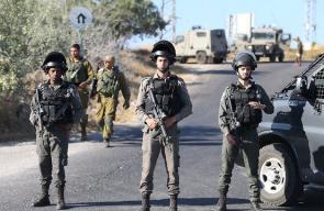 مكان العثور على جثة جندي إسرائيلي تعرض للخطف والطعن