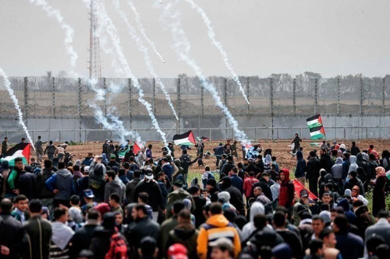 """جماهير قطاع غزة تتجهز لـ """"جمعة لا لضم الضفة"""""""